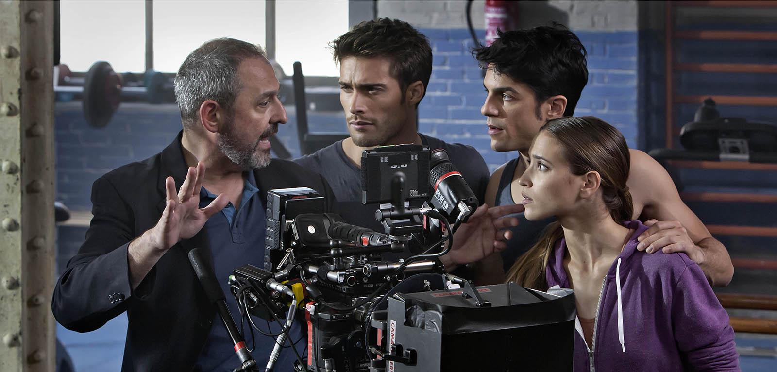 Actors davant la càmera